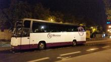 Volvo drogmoller tourismo 49 seats tourism coach hire Bordeaux